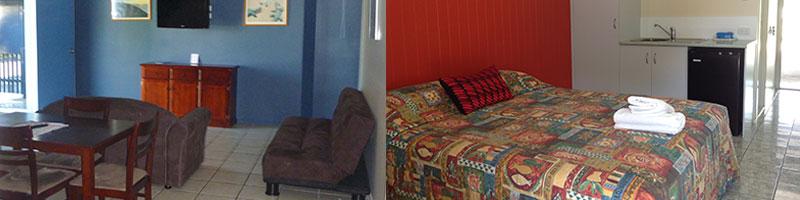 accommodation emu park motel on emu park online