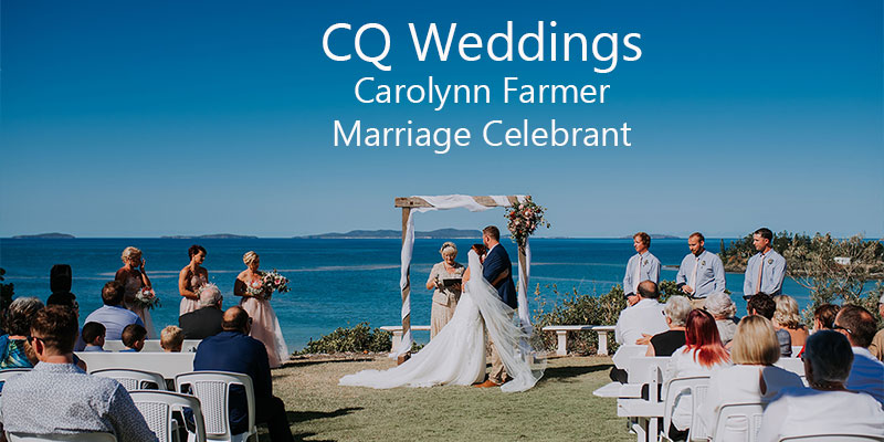 CQ Weddings now listed with Emu Park Online