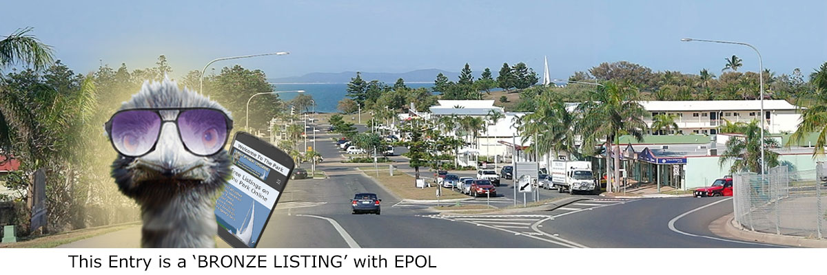 Bronze Listing with Emu Park Online. .. online directory Capricorn Coast