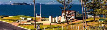 Emu Park Anzac Memorial - award winning tribute Central Queensland