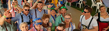 Emu Park Oktoberfest - the biggest party on the Capricorn Coast.