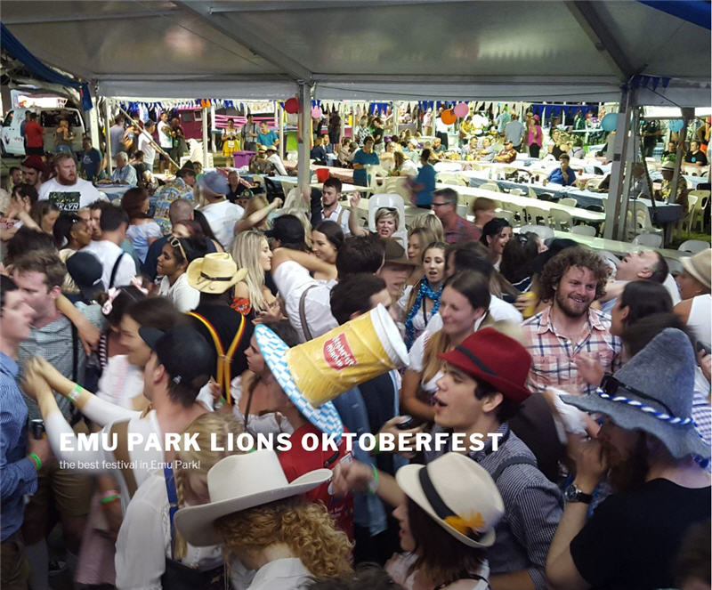 35: THE BIGGEST PARTY ON THE COAST Emu Park Oktoberfest