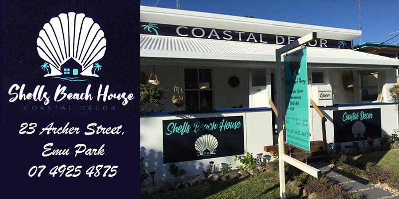 Shells Beach House Emu Park provide a wide and fascinating range of Coastal Décor